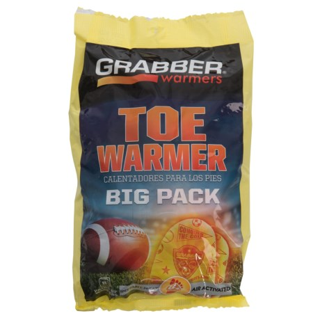 Grabber Toe Warmer Big Pack - 8-Pair in See Photo