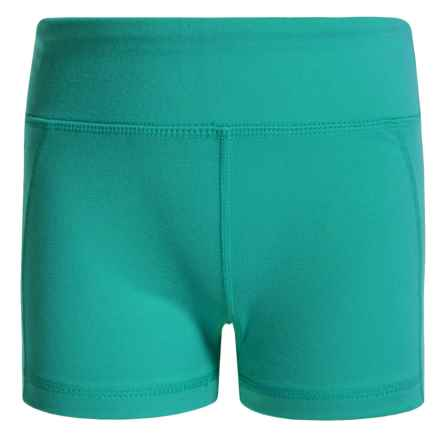 Gracie by Soybu Sporty Shorts (For Little and Big Girls) in Wishing Well - Closeouts