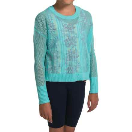 Gracie by Soybu Wynn Sweater (For Little and Big Girls) in Blue Fairy - Closeouts