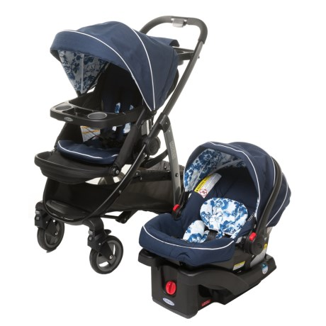 Graco Modes 3-in-1 Travel System with SnugRide35 Car Seat in Tessa