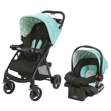 Graco Verb Click Connect Travel System Stroller in Groove - Closeouts