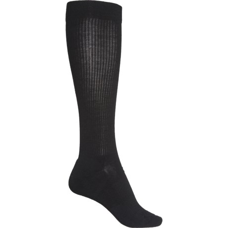 Graduated Compression Stand Up Socks - Merino Wool, Over the Calf (For Men) - BLACK (L ) -  SmartWool