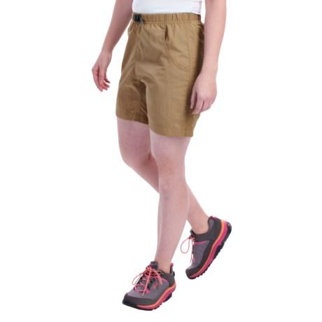 Gramicci's Quick Dry 2 G Shorts - UPF 30 (For Women) in British Khaki