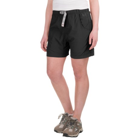 Gramicci's Quick Dry 2 G Shorts - UPF 30 (For Women) in Ebony