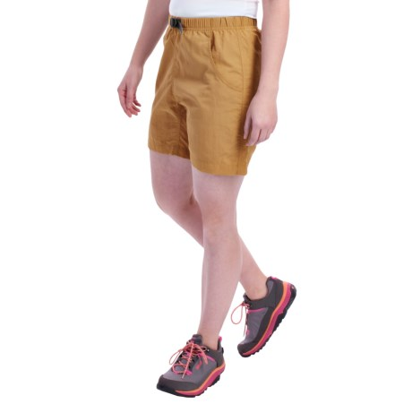 Gramicci's Quick Dry 2 G Shorts - UPF 30 (For Women) in Wheat