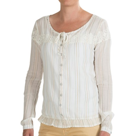 Gramicci Adonia Peasant Top Long Sleeve (For Women)