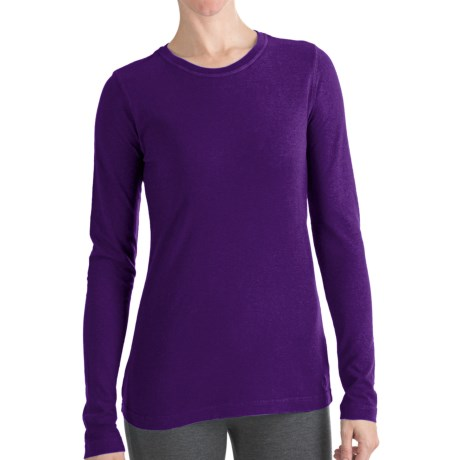 Gramicci Aiden T-Shirt - UPF 20, Hemp-Organic Cotton, Long Sleeve (For Women) in Ivi Infinite Violet