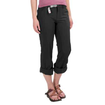 Gramicci Alder Roll-Up Pants (For Women) in Black - Closeouts