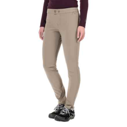 Gramicci All Day Skinny High-Performance Pants (For Women) in Cobblestone - Closeouts