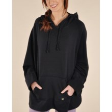 Gramicci Amika Stretch Hooded Poncho (For Women) in Black - Closeouts