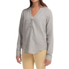 Gramicci Andrie Soleil Blouse - Long Sleeve (For Women) in Dawn Blue - Closeouts