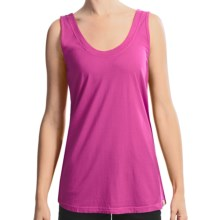 Gramicci Anya Jersey Tank - Daytona Slub Knit (For Women) in Rasberry Rose - Closeouts