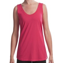 Gramicci Anya Jersey Tank - Daytona Slub Knit (For Women) in Rose Red - Closeouts