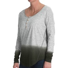 Gramicci Anya Shirt - Organic Cotton-Hemp, Long Sleeve (For Women) in Pewter Grey - Closeouts