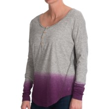 Gramicci Anya Shirt - Organic Cotton-Hemp, Long Sleeve (For Women) in Syrah - Closeouts