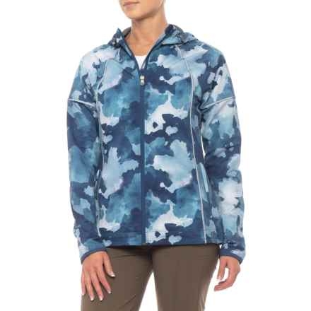 Gramicci Apricity Trail Jacket (For Women) in Blue Watercolor Camo - Closeouts