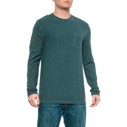 b203f24ad4cf Gramicci Atlantic Blue Crew Neck Shirt - Hemp-Organic Cotton, Long Sleeve  (For