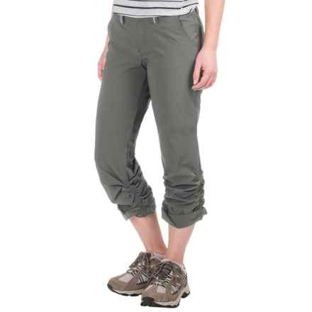 Gramicci Aubrey Pants (For Women) in Asphalt Grey - Closeouts