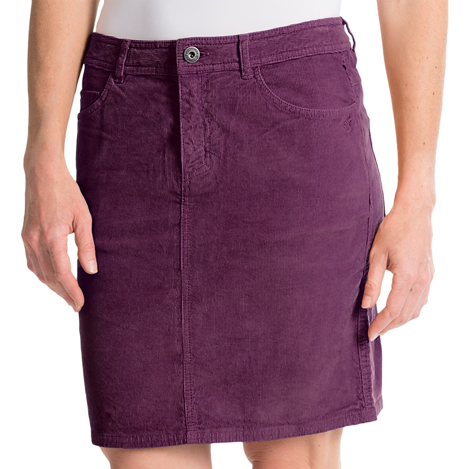 gramicci august corduroy skirt for save 50