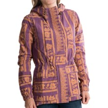 Gramicci Avery Quilted Jacket - Attached Hood (For Women) in Syrah - Closeouts