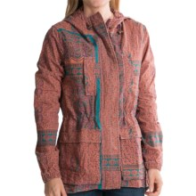 Gramicci Avery Quilted Jacket - Attached Hood (For Women) in Turquise Stone - Closeouts