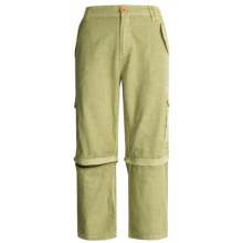 Gramicci Backpacker Convertible Capri Pants - Ripstop Cotton (For Women) in Light Aloe - Closeouts