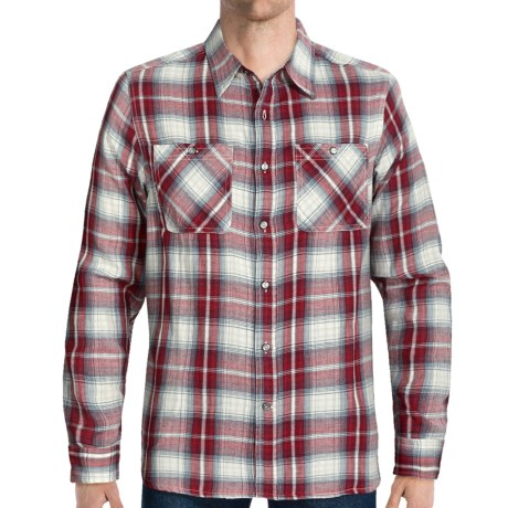 Gramicci Beekman Plaid Monterose Shirt - Long Sleeve (For Men) in Red Alder