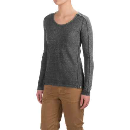 Gramicci Begonia Shirt - Organic Cotton, Long Sleeve (For Women) in Asphalt Grey - Closeouts