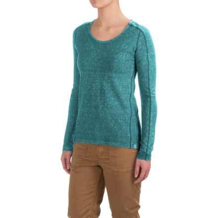 Gramicci Begonia Shirt - Organic Cotton, Long Sleeve (For Women) in Coastal Blue - Closeouts