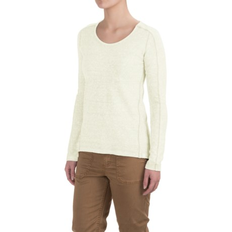 Gramicci Begonia Shirt - Organic Cotton, Long Sleeve (For Women) in Natural
