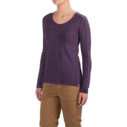 Gramicci Begonia Shirt - Organic Cotton, Long Sleeve (For Women) in Purple Rein - Closeouts