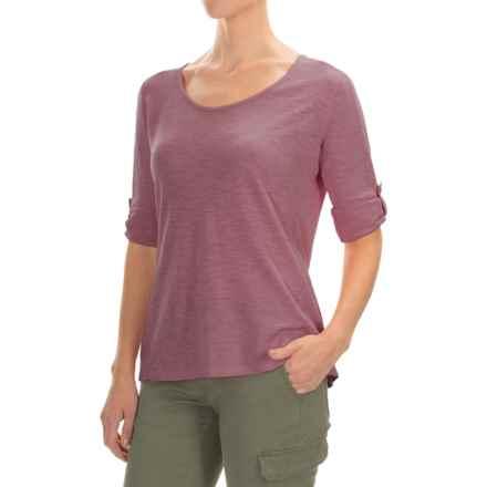 Gramicci Begonia Shirt - UPF 20+, Hemp-Organic Cotton, Long Sleeve (For Women) in Grape Nectar - Closeouts