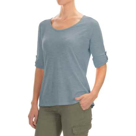 Gramicci Begonia Shirt - UPF 20+, Hemp-Organic Cotton, Long Sleeve (For Women) in Laguna Blue - Closeouts
