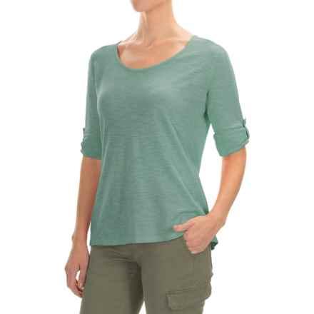 Gramicci Begonia Shirt - UPF 20+, Hemp-Organic Cotton, Long Sleeve (For Women) in Mineral Blue - Closeouts