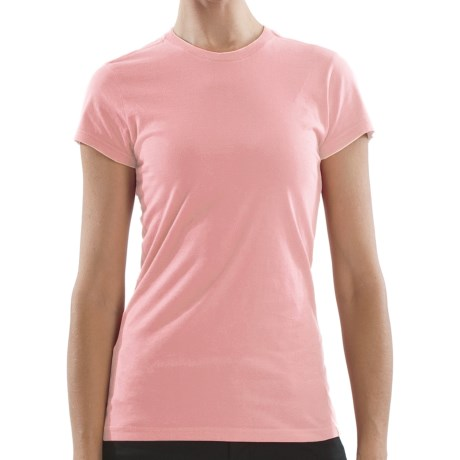 Gramicci Belle T-Shirt - Organic Cotton, Short Sleeve (For Women) in Candy Pink