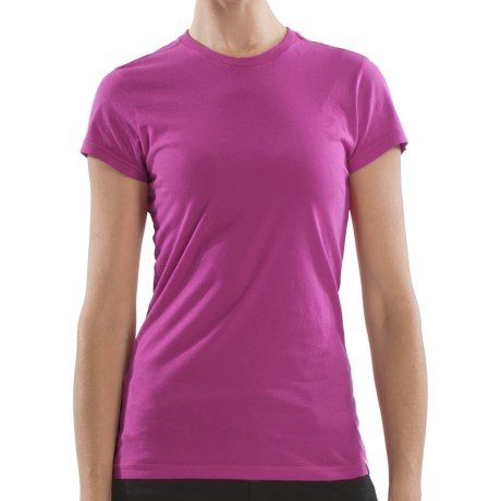 Gramicci Belle T-Shirt - Organic Cotton, Short Sleeve (For Women) in Deep Orchid