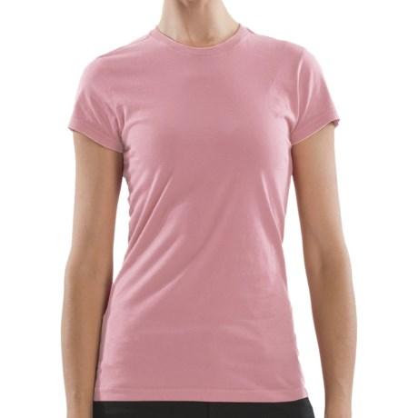 Gramicci Belle T-Shirt - Organic Cotton, Short Sleeve (For Women) in Keepsake Lilac