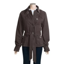 Gramicci Berlin Jacket - Belted (For Women) in Black - Closeouts
