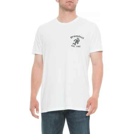 Gramicci Boulder T-Shirt - Organic Cotton, Short Sleeve (For Men) in White - Closeouts