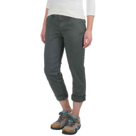 Gramicci Boyfriend Chino Pants (For Women) in Asphalt Grey - Closeouts