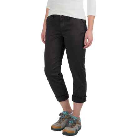 Gramicci Boyfriend Chino Pants (For Women) in Black - Closeouts
