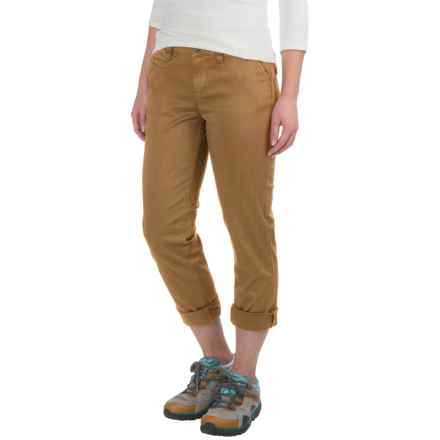 Gramicci Boyfriend Chino Pants (For Women) in Caramel Tan - Closeouts