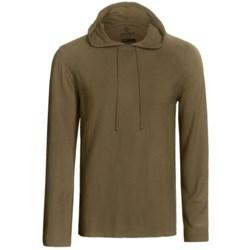 Gramicci Bridger Hooded Pullover - UPF 20, Long Sleeve (For Men) in Indigo Blue