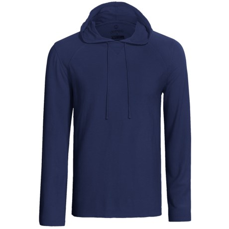 Gramicci Bridger Hooded Pullover - UPF 20, Long Sleeve (For Men) in Indigo Blue
