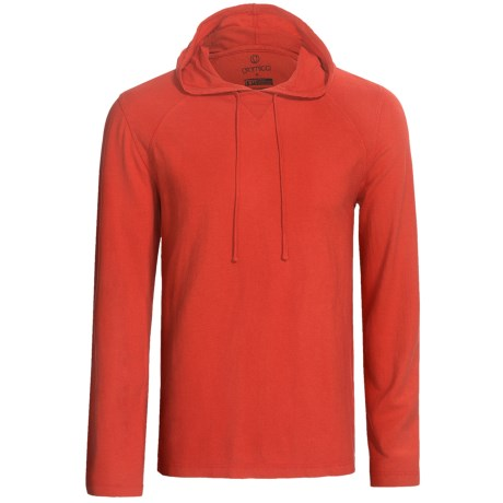 Gramicci Bridger Hooded Pullover - UPF 20, Long Sleeve (For Men) in Mars Red