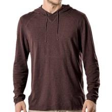 Gramicci Bridger Hooded Sweatshirt - UPF 20, Long Sleeve (For Men) in Dark Walnut - Closeouts