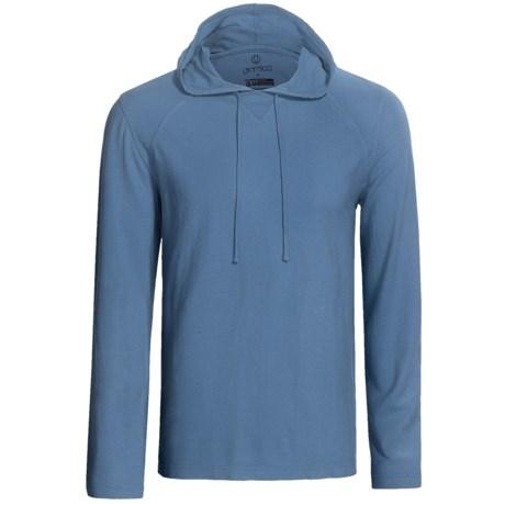 Gramicci Bridger Hooded Sweatshirt - UPF 20, Long Sleeve (For Men) in Ice Blue