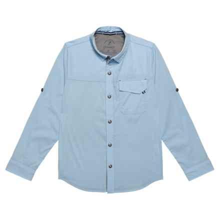Gramicci Buggin Shirt - UPF 40+, Long Sleeve (For Boys) in Ice Blue - Closeouts