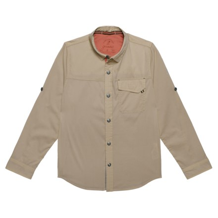 a5a971787 Gramicci Buggin Shirt - UPF 40+, Long Sleeve (For Boys) in Khaki