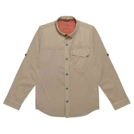 Gramicci Buggin Shirt - UPF 40+, Long Sleeve (For Boys) in Khaki - Closeouts